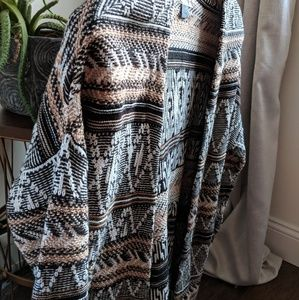 Tribal Pattern Cardigan by Old Navy